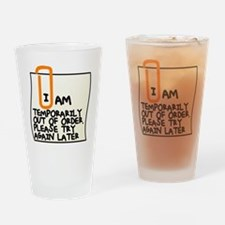Cute Order Drinking Glass
