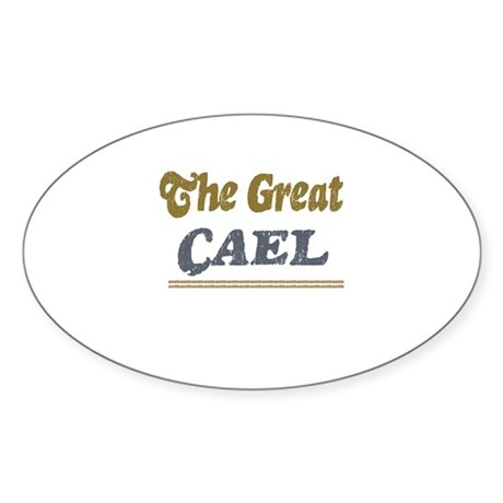 Cael Oval Sticker