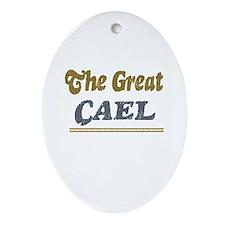 Cael Oval Ornament