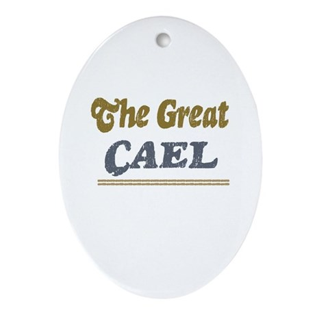 Cael Oval Ornament