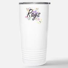 Rays artistic design wi Travel Mug