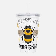Bees Knees Acrylic Double-Wall Tumbler