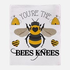 Bees Knees Throw Blanket