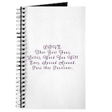 LOVE Pass the Positive Journal
