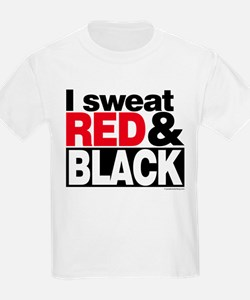 I Sweat Red and Black T-Shirt