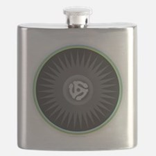45 RPM Record Flask