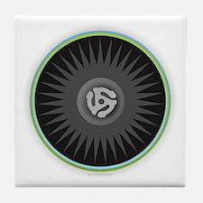 45 RPM Record Tile Coaster