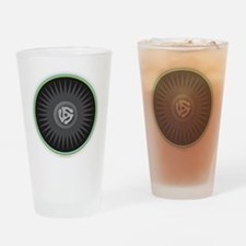 45 RPM Record Drinking Glass