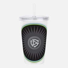 45 RPM Record Acrylic Double-wall Tumbler