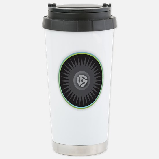 45 RPM Record Stainless Steel Travel Mug
