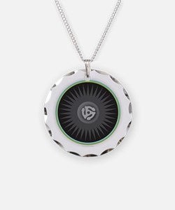 45 RPM Record Necklace