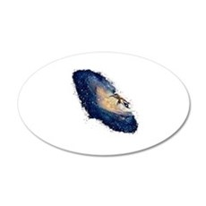 Galaxy Surfer Wall Decal