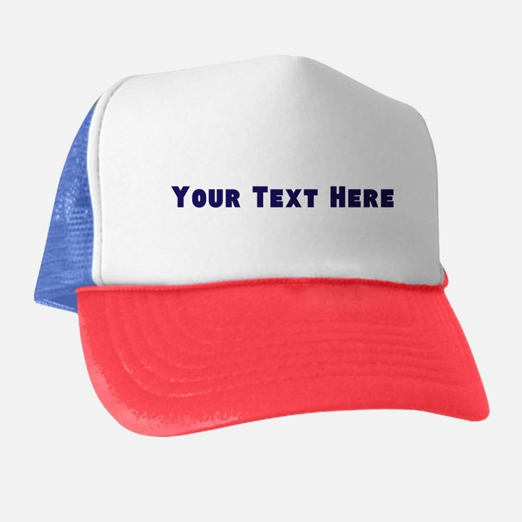 Customizable Personalize It Yourself - Trucker Hat
