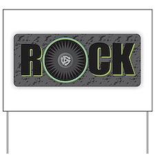 Rock Yard Sign