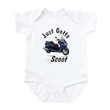 Blue Yamaha Majesty Infant Bodysuit