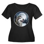 Alaskan Malamute Plus Size T-Shirt