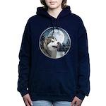 Alaskan Malamute Women's Hooded Sweatshirt