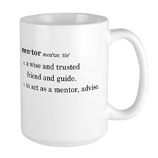 Mentor Definition Large Mugs