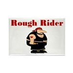 Rough Rider Rectangle Magnet (10 pack)