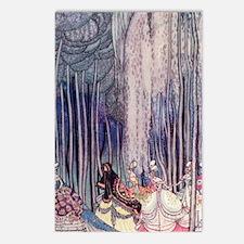 Twelve Dancing Princesses Postcards (Package of 8)