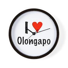 I love Olongapo Wall Clock
