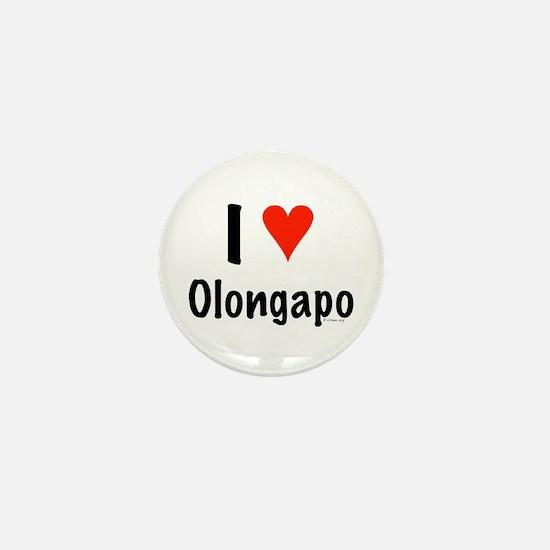 I love Olongapo Mini Button