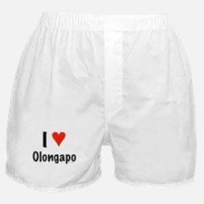 I love Olongapo Boxer Shorts