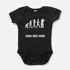 Trumpet Player Evolution (Custom) Baby Bodysuit