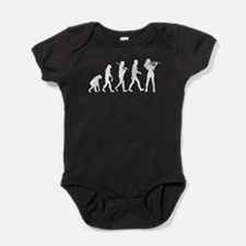Violinist Evolution Baby Bodysuit