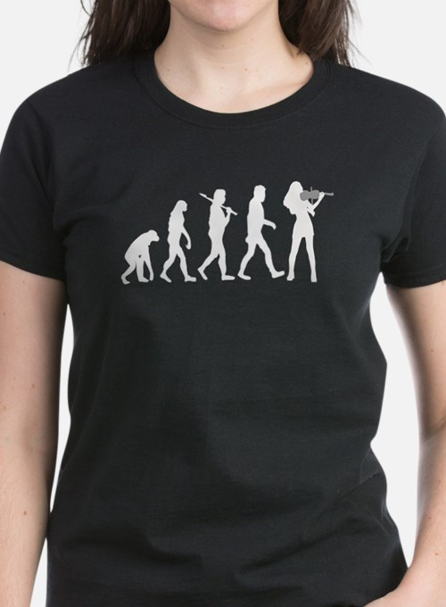 Violinist Evolution T-Shirt