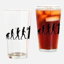 Flautist Evolution Drinking Glass