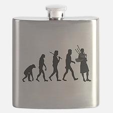 Bagpiper Evolution Flask