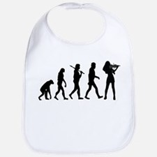Violinist Evolution Bib