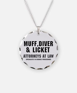 MUFF, DIVER LICKET - ATTORN Necklace
