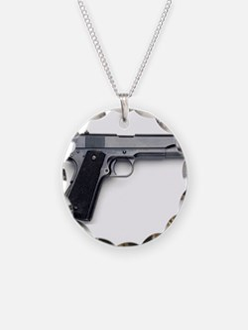 Cute Pistol Necklace
