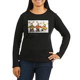 Moose Long Sleeve T Shirts