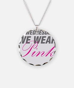 On Wednesdays We Wear Pink Necklace