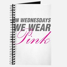 On Wednesdays We Wear Pink Journal