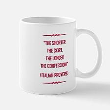 ITALIAN PROVERB Mugs