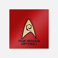 Star Trek Ops Insignia Sticker