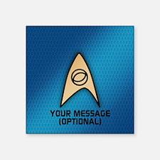 Star Trek Sciences Insignia Sticker
