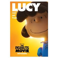 The Peanuts Movie: Lucy Wall Art Canvas Art