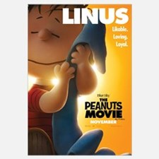 The Peanuts Movie: Linus Wall Art