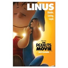 The Peanuts Movie: Linus Wall Art Poster