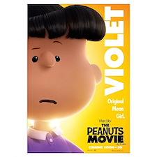 The Peanuts Movie: Violet Wall Art