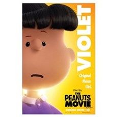 The Peanuts Movie: Violet Wall Art Poster