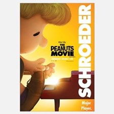 The Peanuts Movie: Schroeder Wall Art
