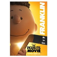 The Peanuts Movie: Franklin Wall Art