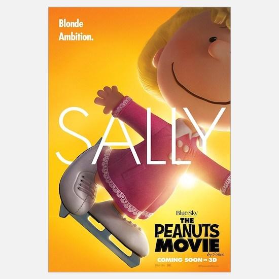 The Peanuts Movie: Sally Wall Art