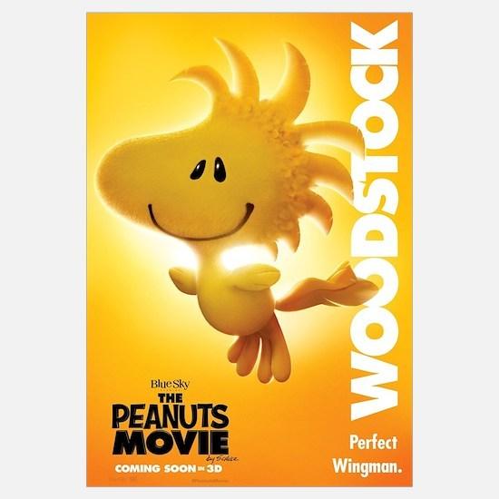 The Peanuts Movie: Woodstock Wall Art